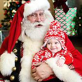 2014 Amore Salon with Santa