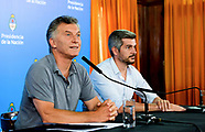Conferencia de Prensa de Mauricio Macri por la renuncia de Valentín Díaz Gilligan