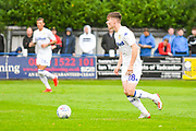 Leeds United Leif Davis (28) in action during the Pre-Season Friendly match between Tadcaster Albion and Leeds United at i2i Stadium, Tadcaster, United Kingdom on 17 July 2019.