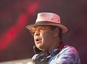 Craig Charles DJ set<br /> Craig Charles Funk & Soul Club<br /> performs live at the House of Common festival, Clapham Common, London, Great Britain<br /> 26th August 2019