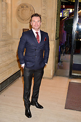 GREG BURNS at the opening night of Amaluna by Cirque Du Soleil at The Royal Albert Hall, London on 19th January 2016.