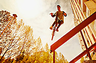 BMX Cycling, Young Men, Stunt, Jumping, Skill,