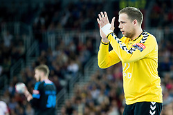Ivan Stevanovic #12 of PPD Zagreb during handball match between PPD Zagreb (CRO) and Paris Saint-Germain (FRA) in 11th Round of Group Phase of EHF Champions League 2015/16, on February 10, 2016 in Arena Zagreb, Zagreb, Croatia. Photo by Urban Urbanc / Sportida