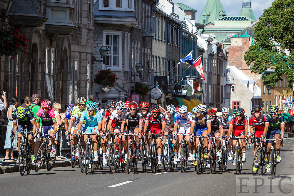 QUEBEC CITY, QUEBEC, CANADA - SEPTEMBER 9:   The Grands Prix Cycliste de Quebec - Québec on September 9, 2016 in Québec City, Québec, Canada. (Photo by Jonathan Devich/Getty Images) *** LOCAL CAPTION ***
