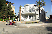 Israel, Tel Aviv, The old town hall at Bialik Square in Bialik street