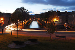 Westport, Carrowbeg River from the Fairgreen, looking down the Mall river...Photo  Conor McKeown