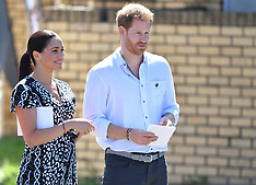 Duke & Duchess of Sussex in Nyanga - 23 Sep 2019