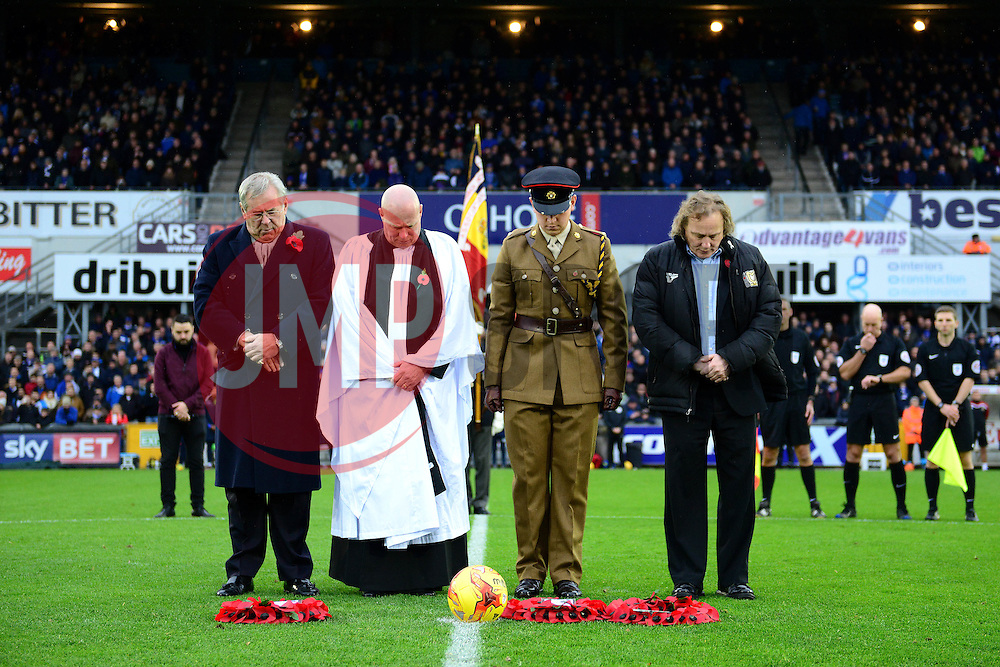 Remembrance fixture for Bristol Rovers - Mandatory by-line: Dougie Allward/JMP - 19/11/2016 - FOOTBALL - Memorial Stadium - Bristol, England - Bristol Rovers v Milton Keynes Dons - Sky Bet League One