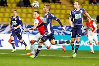 Lucas Ocampos / Cedric Cambon  - 21.01.2015 - Monaco / Evian Thonon   - Coupe de France 2014/2015<br /> Photo : Sebastien Nogier / Icon Sport