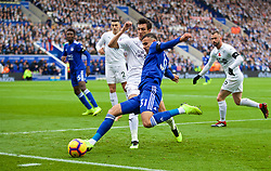 LEICESTER, ENGLAND - Saturday, November 10, 2018: Leicester City's Rachid Ghezzal during the FA Premier League match between Leicester City FC and Burnley FC at the King Power Stadium. (Pic by David Rawcliffe/Propaganda)
