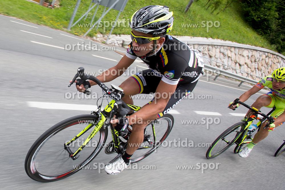 Carvajal Juan Esteban Arango of Colombia during Stage 3 from Rogaska Slatina to Trije Kralji (192 km) of cycling race 21st Tour of Slovenia, on June 21, 2014 in Slovenia. Photo By Urban Urbanc / Sportida