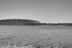 04 April 2015:   Spring at Dawson Lake located in Moraine View State Park maintained by the Illinois Department of Natural Resources (IDNR) near Le Roy Illinois before the trees leaf out.<br /> <br /> This image was produced in part utilizing High Dynamic Range (HDR) processes.  It should not be used editorially without being listed as an illustration or with a disclaimer.  It may or may not be an accurate representation of the scene as originally photographed and the finished image is the creation of the photographer.