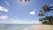 Kaaawa Beach Park, Oahu, Hawaii