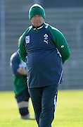 Coach Declan Kidne of Ireland, during an Ireland training session at Carisbrook in Dunedin, New Zealand. IRB Rugby World Cup 2011. Friday 30 September 2011. New Zealand. Photo: Richard Hood/photosport.co.nz