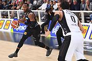 Dominique Sutton<br /> Dolomiti Energia Trentino - Virtus Segafredo Bologna<br /> Lega Basket Serie A 2017/2018<br /> Trento, 30/09/2017<br /> Foto M.Ceretti / Ciamillo - Castoria