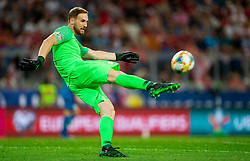 Jan Oblak of Slovenia during the 2020 UEFA European Championships group G qualifying match between Austria and Slovenia at Wörthersee Stadion on June 7, 2019 in Klagenfurt, Austria. Photo by Vid Ponikvar / Sportida
