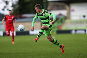 Forest Green Rovers Elliott Frear(11) controls the ball during the Vanarama National League match between Forest Green Rovers and Barrow at the New Lawn, Forest Green, United Kingdom on 1 October 2016. Photo by Shane Healey.