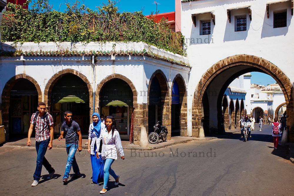 Maroc, Casablanca, Les Habous ou la Nouvelle Medina, 1918-1955// Morocco, Casablanca, The Habous or the New Medina, 1918-1955