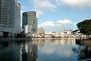 Buildings on the Riverside, Singapore