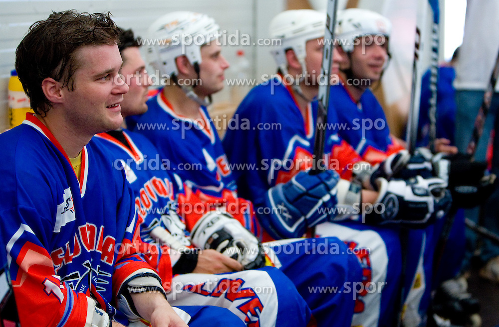 Dejan Zemva of Slovenia at in-line tournament Horjul Hockey Cup 2009 between National teams of Slovenia and Austria, on May 31, 2009, in Sportni park Horjul, Slovenia. (Photo by Vid Ponikvar / Sportida)