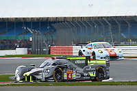 Simon Trummer (CHE) / Oliver Webb (GBR) James Rossiter (GBR)  #4 Bykolles Racing Team CLM P1/01 - AER, WEC 6 Hours of Silverstone 2016 at Silverstone, Towcester, Northamptonshire, United Kingdom. April 17 2016. World Copyright Peter Taylor/PSP.