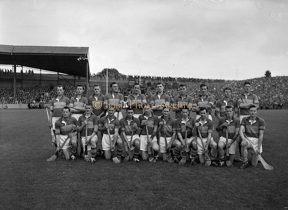All Ireland Senior Hurling Championship Final,.04.09.1960, 09.04.1960, 4th September 1960,.Minor Tipperary v Kilkenny, .Senior Wexford v Tipperary, Wexford 2-15 Tipperary 0-11,.. 04091960AISHCF,