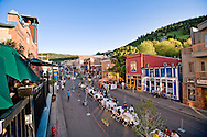 Savor the Summit's annual Grande Table event held down the middle of Historic Main Street in Park City, Utah, catering to over 1500 diners.