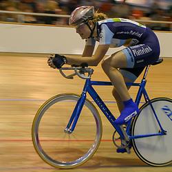 ALKMAAR (NED) wielrennen<br />NK Baanwielrennen ; vrouwen; ; achtervolging; Vera Koedooder