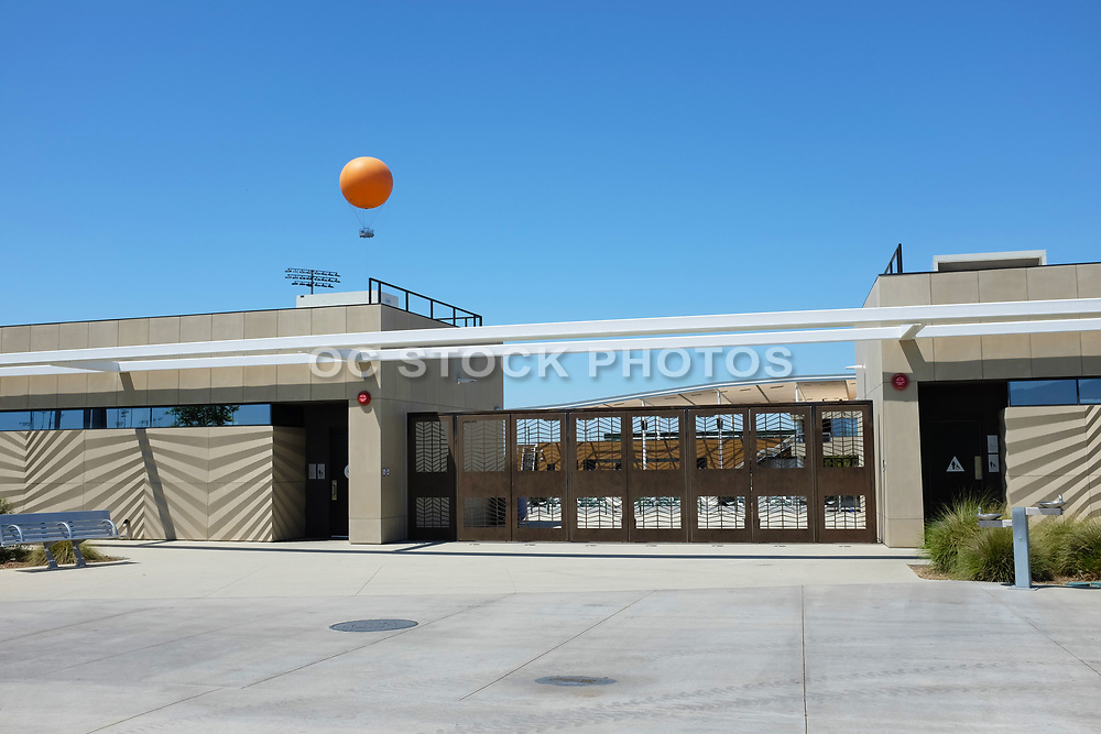 East Entrance to Great Park Championship Soccer Stadium
