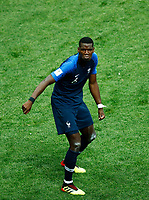 Paul POGBA <br /> Celebration Victory France <br /> Moscow 15-07-2018 Football FIFA World Cup Russia  2018 Final / Finale <br /> France - Croatia / Francia - Croazia <br /> Foto Matteo Ciambelli/Insidefoto