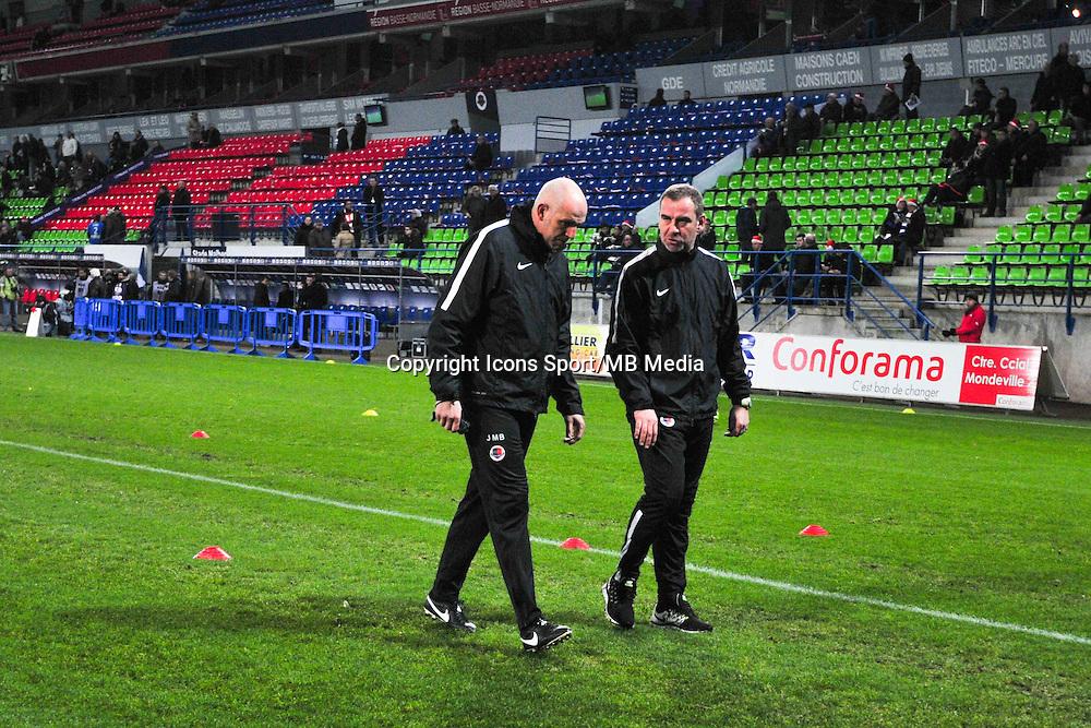 Jean Marc Branger / Jean Marie Huriez - 20.12.2014 - Caen / Bastia - 19eme journee de Ligue 1 <br /> Photo : Philippe Le Brech / Icon Sport
