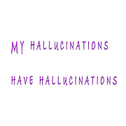 My Hallucinations have hallucinations