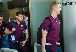 Joe Hart during arrival of  England National Football team 1 day before EURO 2016 Qualifications match against Slovenia, on June 13, 2015 in Airport Joze Pucnik, Brnik - Ljubljana, Slovenia. Photo by Vid Ponikvar / Sportida