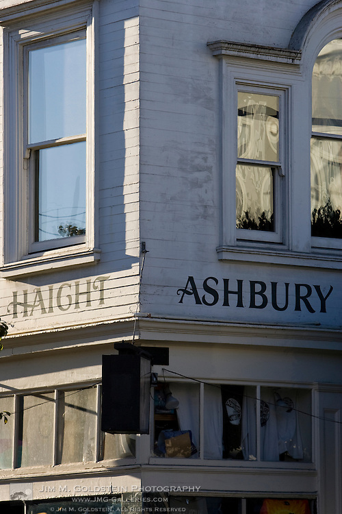 Haigh Ashbury Store Front, San Francisco, California