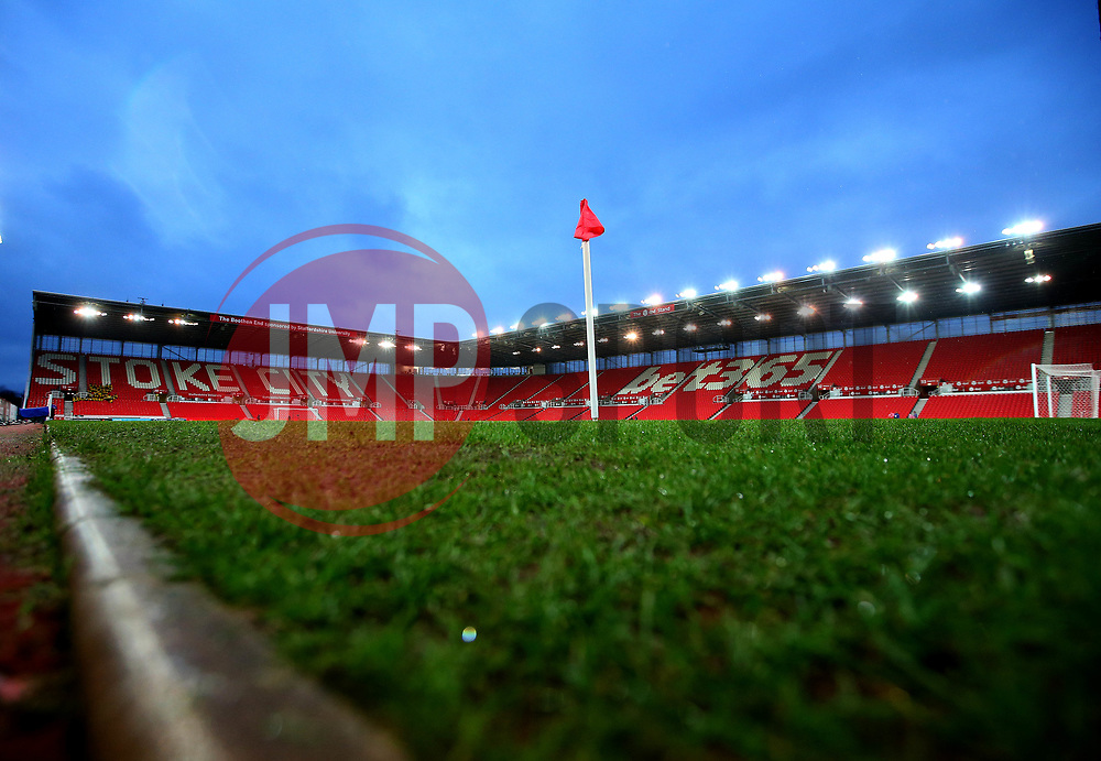 A general view of The Bet365 Stadium, home to Stoke City - Mandatory by-line: Robbie Stephenson/JMP - 12/03/2018 - FOOTBALL - Bet365 Stadium - Stoke-on-Trent, England - Stoke City v Manchester City - Premier League