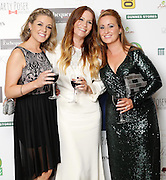 29/9/14***NO REPRO FEE***Pictured are Elaine Walls, Jane Craven Swan and Nathalie Murphy at the 11th Q Ball in aid of Spinal Injuries Ireland at The Ballsbridge Hotel last night Pic: Marc O'Sullivan