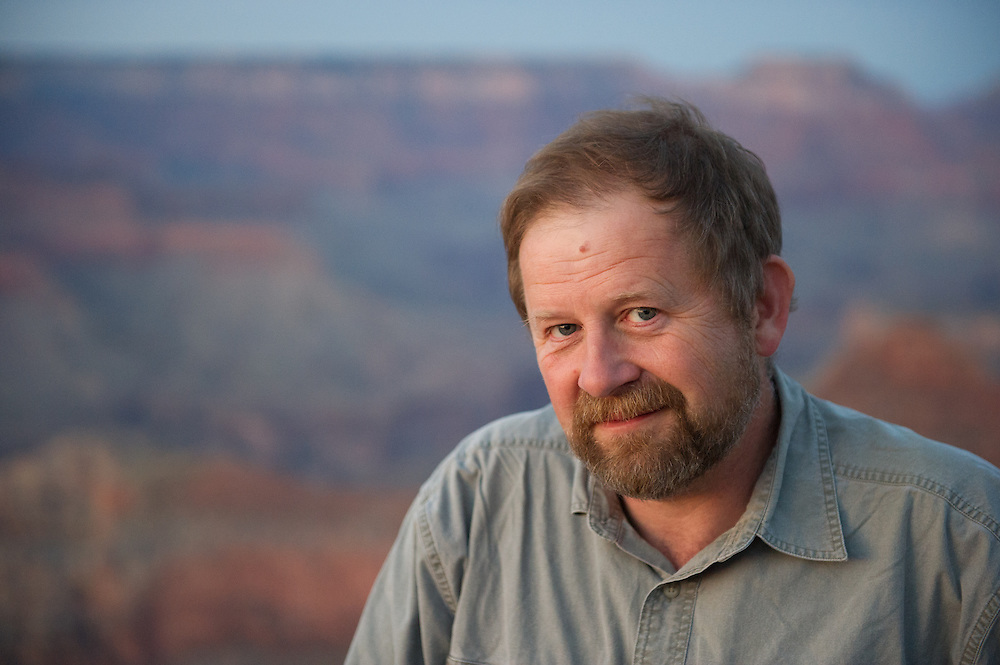 Edwin Remsberg at the Grand Canyon