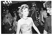 Libby Mannen, Piers Gaveston Ball, Park Lane Hotel 13.05.83© Copyright Photograph by Dafydd Jones 66 Stockwell Park Rd. London SW9 0DA Tel 020 7733 0108 www.dafjones.com