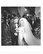 Donald Trump and Marla Maples© Copyright Photograph by Dafydd Jones 66 Stockwell Park Rd. London SW9 0DA Tel 020 7733 0108 www.dafjones.com