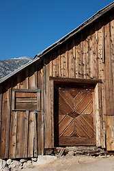"""""""Old Barn in Nevada 1"""" - This old barn was photographed in Nevada."""