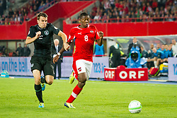 10.09.2013, Ernst Happel Stadion, Wien, AUT, FIFA WM Qualifikation, Oesterreich vs Irland, Rueckspiel, im Bild Seamus Coleman, (IRL, #2), David Alaba, (AUT, #8) // during the FIFA World Cup Qualifier second leg Match between Austria and Ireland at the Ernst Happel Stadium in Vienna, Austria on 2013/09/10. EXPA Pictures © 2013, PhotoCredit: EXPA/ Sebastian Pucher