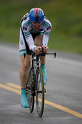 Mike Miller (ALL) during stage 1 of the Tour of Virginia.  The Tour of Virginia began with a 4.7 mile individual time trial near Natural Bridge, VA on April 24, 2007. Formerly known as the Tour of Shenandoah, the ToV has gained National Race Calendar (NRC) status for the first time in its five year history.