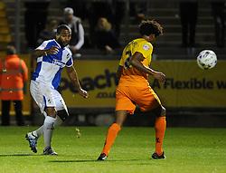 Jermaine Easter - Mandatory byline: Neil Brookman/JMP - 07966 386802 - 06/10/2015 - FOOTBALL - Memorial Stadium - Bristol, England - Bristol Rovers v Wycombe Wanderers - JPT Trophy