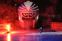 03.09.2010, O2 World Arena, Hamburg, GER, DEL, Hamburg Freezers vs Koelner Haie, im Bild Feature Einlauf der Freezers EXPA Pictures © 2010, PhotoCredit: EXPA/ nph/  Witke+++++ ATTENTION - OUT OF GER +++++