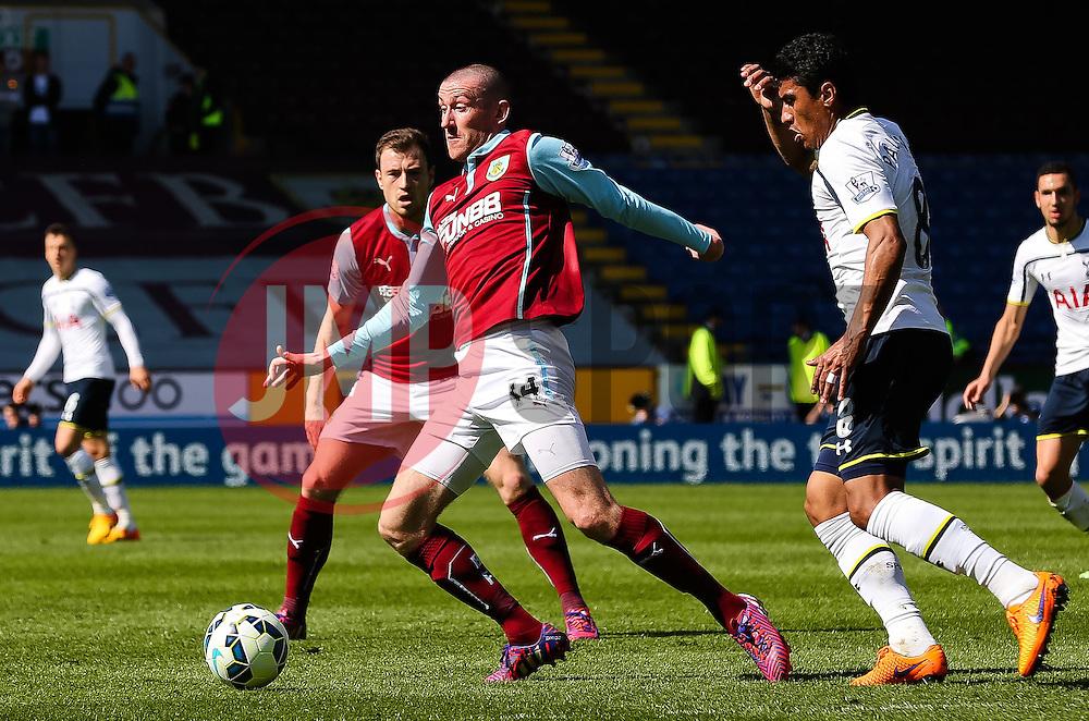 Burnley's David Jones - Photo mandatory by-line: Matt McNulty/JMP - Mobile: 07966 386802 - 05/04/2015 - SPORT - Football - Burnley - Turf Moor - Burnley v Tottenham Hotspur - Barclays Premier League