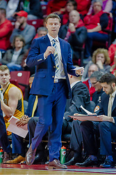 NORMAL, IL - February 05: Matt Lottich during a college basketball game between the ISU Redbirds and the Valparaiso Crusaders on February 05 2019 at Redbird Arena in Normal, IL. (Photo by Alan Look)