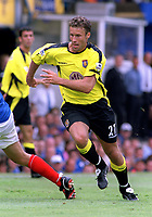 Ronny Johnsen (Aston Villa). Portsmouth v Aston Villa. 16/8/2003. Credit : DIGITALSPORT/Andrew Cowie.