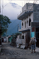 Street scene in Santiago Atitlan, Guatemala