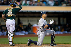 20150530 - New York Yankees at Oakland Athletics