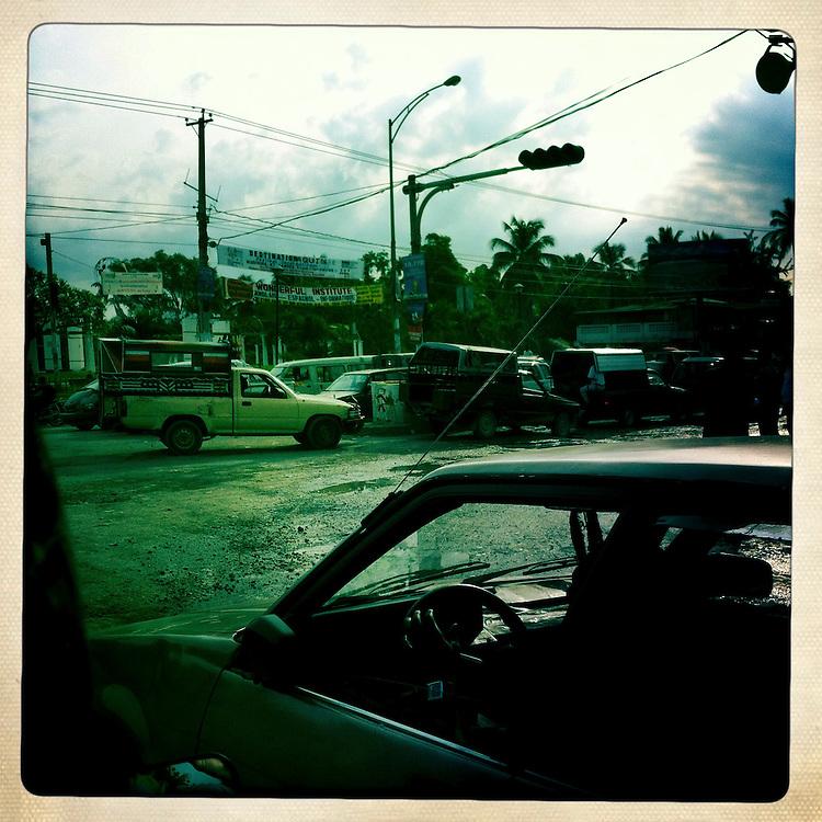 A street scene on Wednesday, April 4, 2012 in Port-au-Prince, Haiti.